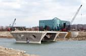 New Bridge Progress — Stock Photo
