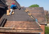 Roof Repair — Stock Photo