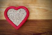Heart Healthy Steel-cut Oats — Stock Photo