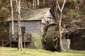 Retro Old Grist Mill — Stock Photo