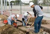 Construction Crew — Stock Photo