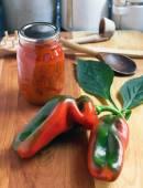 Behoud van inlandse Peppers — Stockfoto