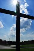 十字のシルエット — ストック写真