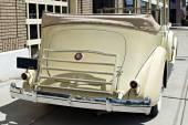 Luxury Vintage Car Rear — Стоковое фото