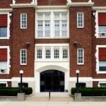 Catholic School Entrance — Stock Photo #69048151