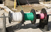 Color-coded Wiring — Stock Photo