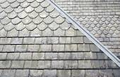 Old Slate Roof — Stock Photo