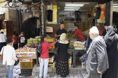 Muslim Souk, Jerusalem — Stock Photo