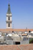 Catholic Church Tower, Old City, Jerusalem — Stock Photo