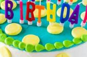 Birthday cake. — Stock Photo