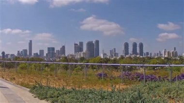 Tel Aviv view of the city2 — Stock Video