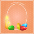 Easter-candle — Stock Vector #67693599