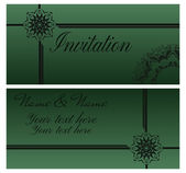 Vintage invitation card2. — Stock Vector