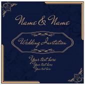 Vintage invitation9. — Stock Vector