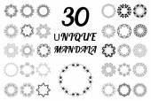 Набор Мандала. — Cтоковый вектор