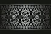Vektör Arkaplan Antika Halı Desen Eski Türk Sembolleri — Stock Vector