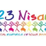 23 Nisan Ulusal Egemenlik ve Çocuk Bayramı — Stock Vector #70471363
