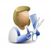 Hairstylist — Stock Vector