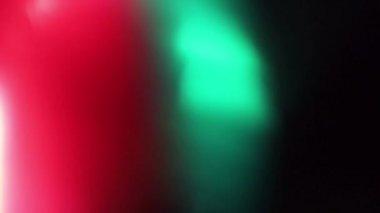Shining light abstract bokeh background bokeh holiday ornaments bright spot defocused circle brilliant — Stock Video
