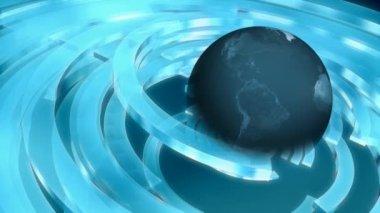 Globe 0035H — Stockvideo