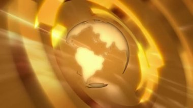 Globe 0108H — Video Stock