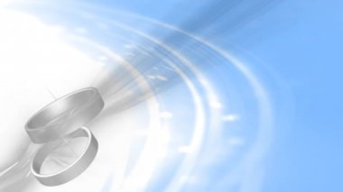 Wedding Ring 0003H — Vídeo stock