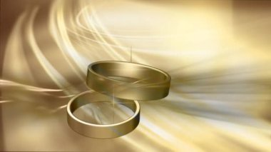 Wedding Ring 0002H — Vídeo stock