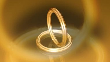 Wedding Ring 0006H — Stock Video