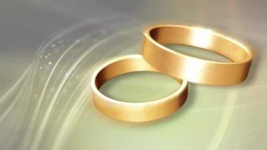 Wedding Ring 0009H — Stock Video