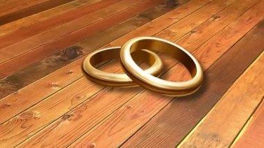 Wedding Ring 0008H — Stock Video