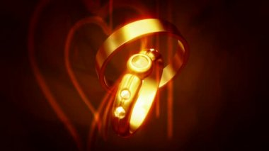 Wedding Ring 0016H — Vídeo stock