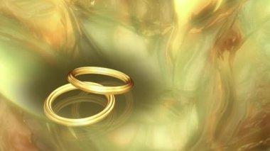 Wedding Ring 0017H — Stock Video
