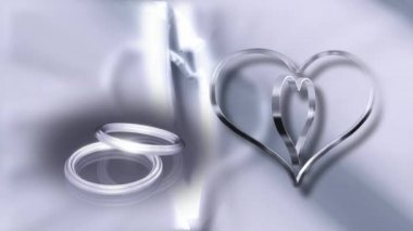 Wedding Ring 0019H — Vídeo stock