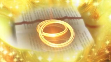 Wedding Ring 0022H — Vídeo stock