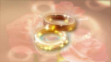 Wedding Ring 0024H — Stock Video