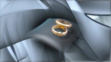 Wedding Ring 0025H — Stock Video