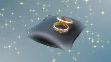 Wedding Ring 0029H — Stock Video