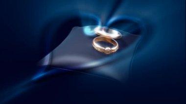 Wedding Ring 0030H — Stock Video