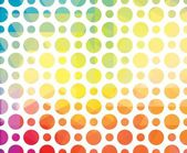 Colorful geometric background with circles — Stock Vector