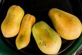 Yellow papaya — Foto Stock