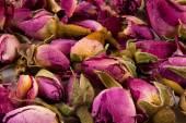 Fundo rosa colorido de flores — Fotografia Stock