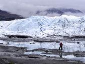 Deep in the Glacier Territory — Stock Photo