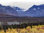 Alaska Autumn Scenary — Stock Photo