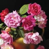 Roses in an arrangement. — Zdjęcie stockowe