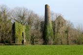 Mine buildings at Kelly Bray, Cornwall UK. — Stock Photo