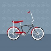 Vector colorful bicycles of various types — Cтоковый вектор