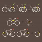 Fasten your bike — Wektor stockowy