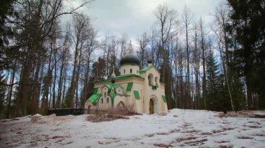 "Church of the Saviour,State historical-artistic and Literaturnaia-reserve ""Abramtsevo, Russia — Stock Video"