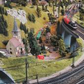 Little miniature town — Stock Photo