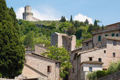 Assisi Umbria Italy — Stock Photo